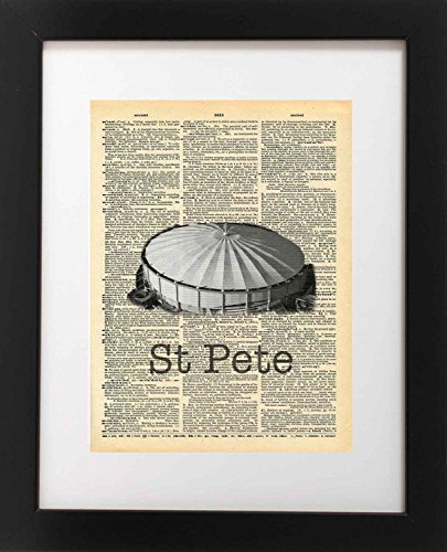 st-petersburg-florida-tropicana-field-vintage-dictionary-art-print-8x10-inch-home-vintage-art-abstra