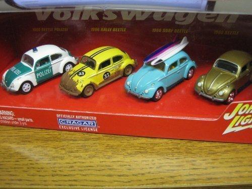 Playing Mantis Johnny Lightning 1966 VW Beetle's Box Set ...