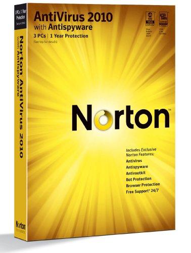 Norton Antivirus 2010 1-User/3PC [Old Version]