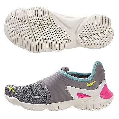 Nike Womens Free RN Flyknit 3.0 Running Trainers AQ5708 Sneakers Shoes (UK 3 US 5.5 EU 36, Gunsmoke Volt Green 002) 002