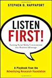 Listen First!, Stephen D. Rappaport, 0470935510