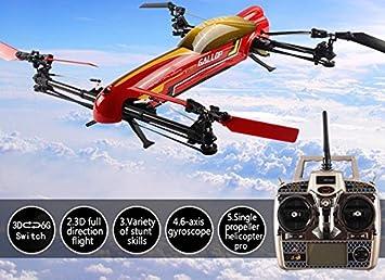 WLToys - V383 Drone Acrobático 3D: Amazon.es: Juguetes y juegos