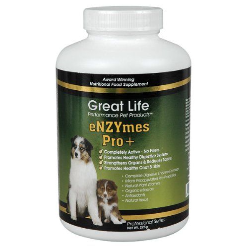 Great Life Enzymes Pro Pet Digestive Remedy, 212gm, My Pet Supplies