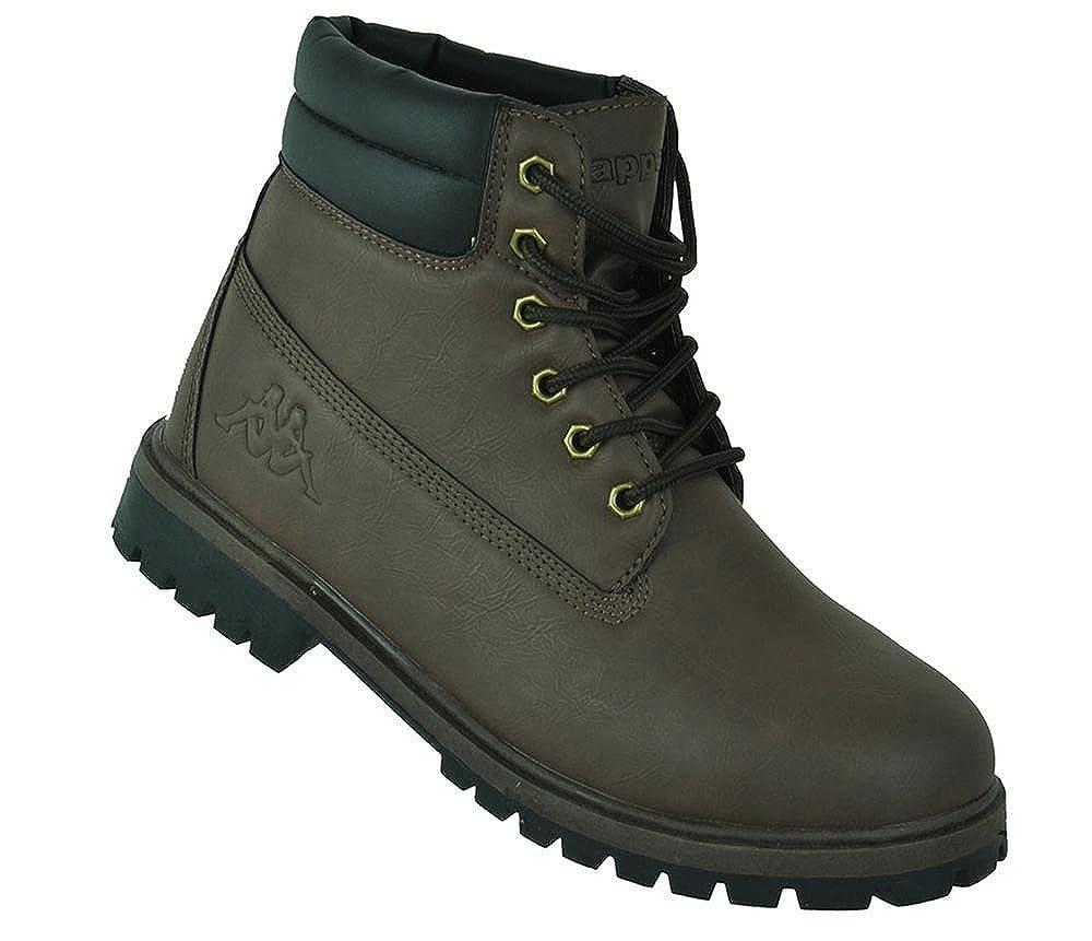 Kappa Nazdar SRB Hombres Botas de Invierno Zapatos del Invierno de Marrón