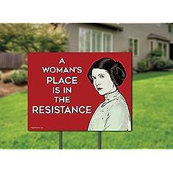 Princess Leia Resistance Sign