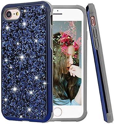 Amazon.com  iPhone 6 6S case Glitter Bling for Girls Women 37108ce1ad