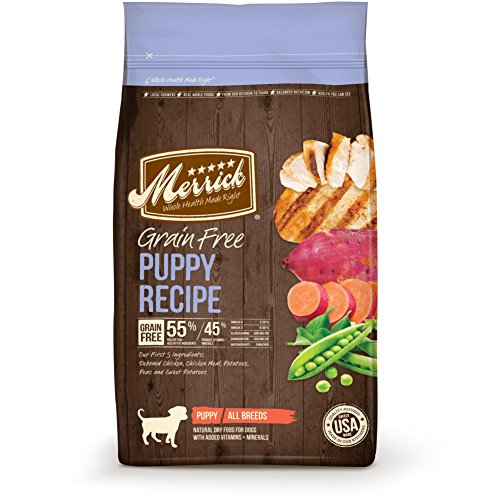Merrick-38376-Grain-Free-Puppy-Real-Chicken-plus-Sweet-Potato-Recipe-Pet-Food-25-lb