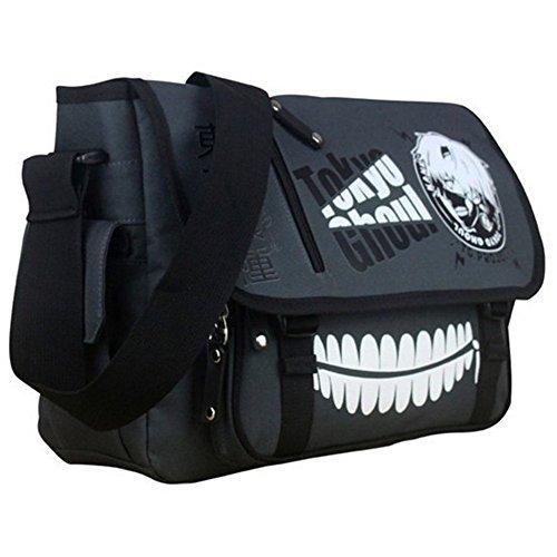 Waterproof Anime Tokyo Ghoul Oxford Cosplay Messenger Bag Bookbag For Boy Men
