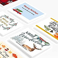"Avery Printable Holiday Invitation Cards for Laser Printers, 200 Postcards, 4.25"" x 5.5"" (5689)"