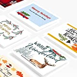 "Avery Printable Holiday Invitation Cards for Inkjet Printers, 4.25"" x 5.5"", 200 Postcards (8387), White"
