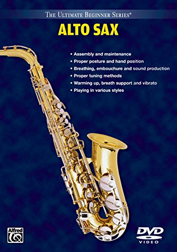 DVD : ULTIMATE BEGINNER - Ubs: Alto Sax (DVD)