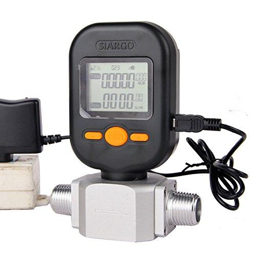 MF5712 200L/min digital gas air nitrogen oxygen mass flow meter flowmeter