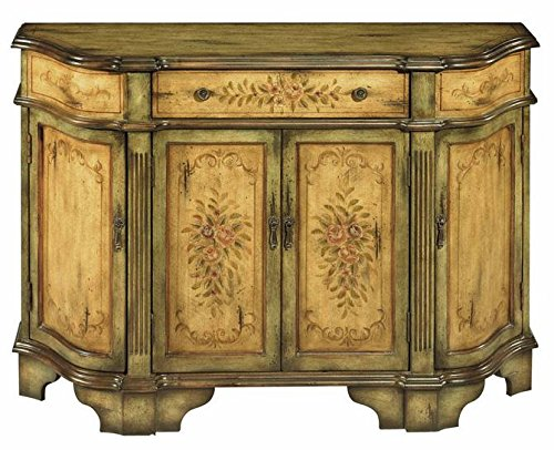 Stein World Furniture Dover Credenza, Antique Green, Brown (Wood Furniture Stein)