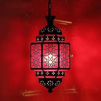NIUZIMU Lámparas de araña Araña Árabe Clásico Arte de Bronce ...
