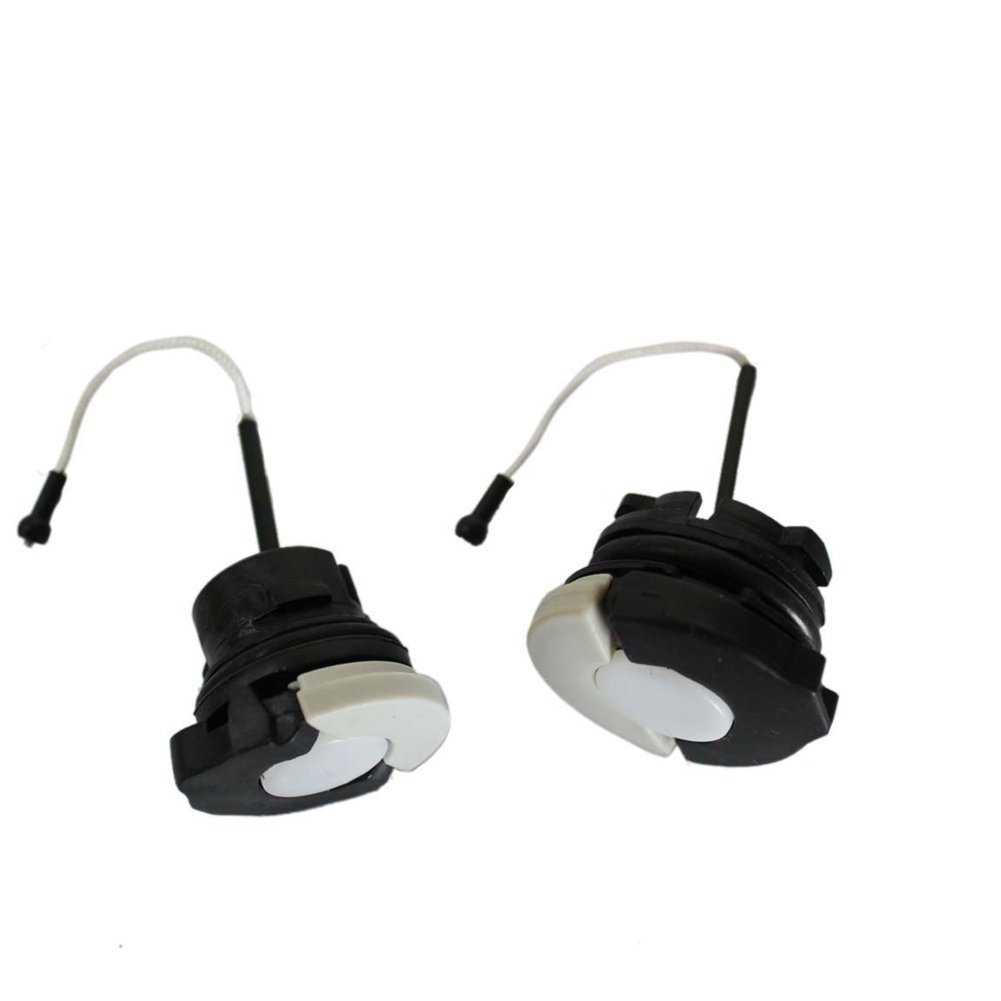 Cozy Gas Tank Fuel Cap + Oil Cap for Stihl Chainsaw Ms210 Ms230 Ms250 Ms360 Replace Part# 000 0350 0525 and Part# 0000 350 0526 00427