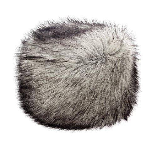 Futrzane Women's Russian Cossack Faux Fur Hat for Winter (M, Syberian Silver) (Best Looking Russian Women)