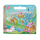Enchanted Activity, Magnetic Set for Girls. Woodland Magnetic Book Activity Set for Girls. Great Travel Activity Packs for Kids / Activity Book. Great Gifts for Girls 3 years old