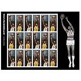 2014 Wilt Chamberlain Sheet of 18 Forever Stamps Scott 4950-51 By USPS
