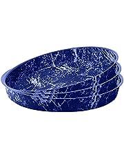 طقم صواني بيتزا رخام جراندي كوك 26-28-30 Marbel Blue