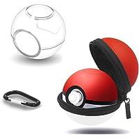 leegoal Étui pour Poké Ball Plus, Pochette de Protection Zip Dur avec Trousseau pour commutateur de Nitedo Switch Accessoires Pokeball