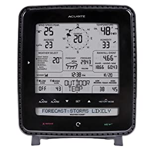 Acu-Rite 01500 Wireless Weather Station with Wind and Rain Sensor from Acu-Rite