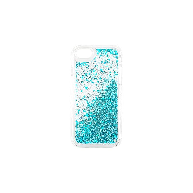 uCOLOR Blue Glitter Case Compatible for