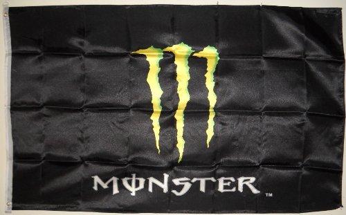 3x5 MONSTER FLAG energy drink