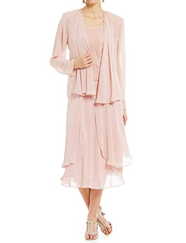 Kevins Bridal Lace Mother of the Bride Dress with Jacket Long Sleeves Party Gown