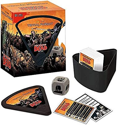 USAopoly The Walking Dead Trivial Pursuit Board Game: Amazon.es ...