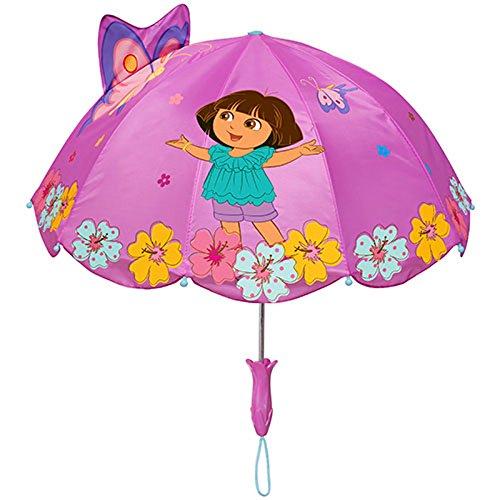 Explorer Umbrella (Kidorable Dora the Explorer Children Kids Girl Nylon Safety Rain Umbrella)