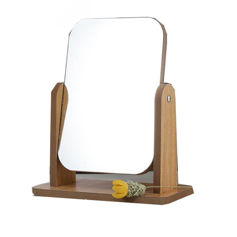 Miroir cosmétique de haute définition de miroir de la définition 360 ° Miroir réglable de rotation Black Temptation