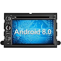 Ohok Android 8.0 Car Stereo for FORD Fastboot 2 Din Head Unit with Navigation 7 Inch Touchscreen 8-Core RAM 4G ROM 32G DVD Player Support Bluetooth Mirror Link,Subwoofer,SWT,3G/Wifi/Hotspot