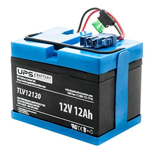 Peg Perego Compatible Replacement 12V Battery for John Deere Tractor Ride-on-Toy by UPSBatteryCenter UPS Battery Center 12V-TOY-111518-batt