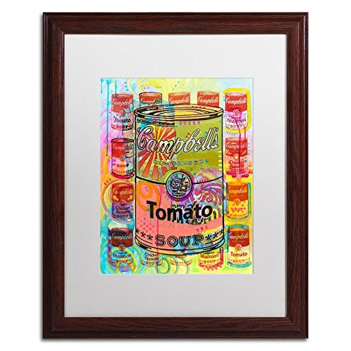 (Tomato by Dean Russo, White Matte, Wood Frame 16x20-Inch)