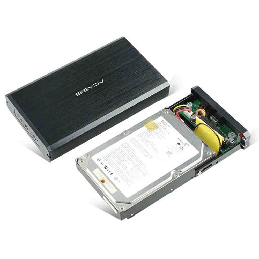 2,5//3,5, IDE//SATA, SDD, USB 2.0 Carcasa para Disco Duro Externo InnerSetting Acasis BA-06USI