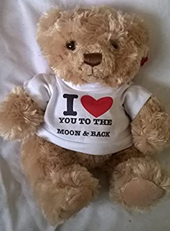i love you to the moon and back 7 teddy bear romantic gifts presents for her