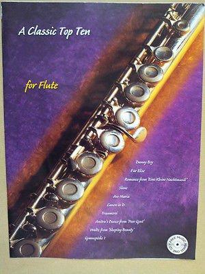 flute A CLASSIC TOP TEN + CD