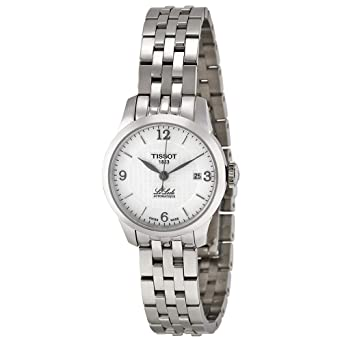 7937ed8b62 [ティソ] TISSOT 腕時計 ル・ロックル オートマティック レディー シルバー文字盤 ブレスレット T41118334 レディース