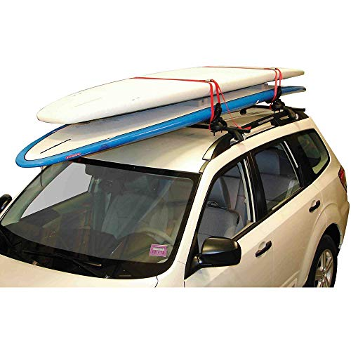Malone Auto Racks Maui-2 Two Board Universal Fit Saddle System (Best Place To Paddleboard In Maui)