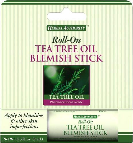 (Herbal Authority Blemish Stick with Tea Tree Oil-9 ml Stick)