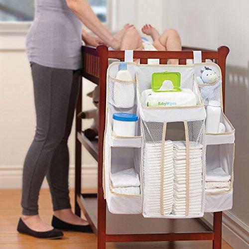 Amazoncom Dexbaby Diaper Caddy And Nursery Organizer For Babys