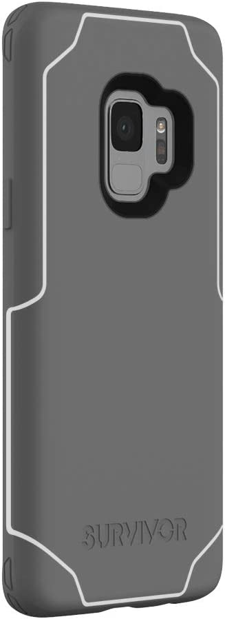 Slim Cover Survivor Strong Clear Griffin Drop Protected Qi Charge Compatible Samsung Galaxy S9 Case