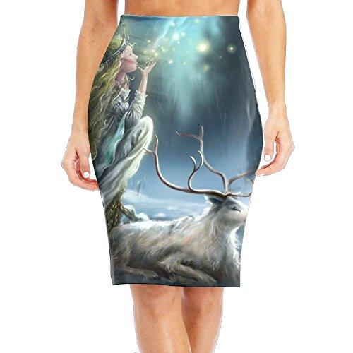Poppy Bedskirt (SHZFS Luc Goddess Of Forest Girl Comfort Pencil Skirt Tube Skirt)