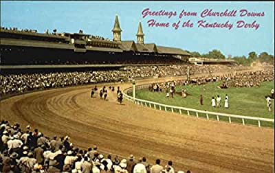 Churchill Downs, Home Of The Kentucky Derby Louisville Original Vintage Postcard