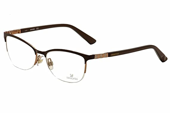 f27c972b8ad5 Daniel Swarovski Eyeglasses Good SW5169 SW 5169 048 Brown Optical Frame 54mm