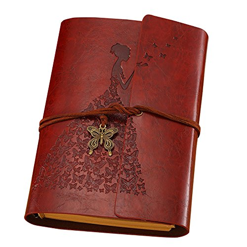 Koolemon Refillable Notebook Sketchbook Buttlerfly