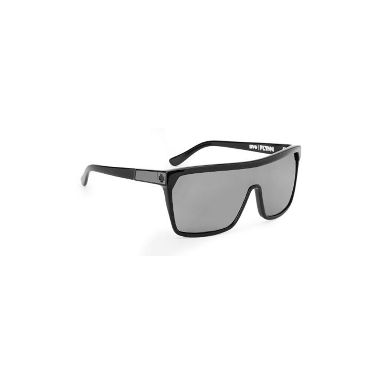 Spy Flynn Sunglasses - Spy Optic Look Series Casual Wear Eyewear - Black with Matte Black/Grey / One Size Fits All by Spy