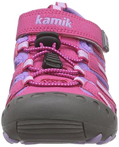 Kamik Crab - Sandalias Cerradas Unisex Niños Pink (FUCHSIA/FUS)