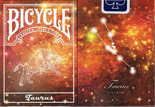 Constellation Bicycle Playing Cards - 12 Designs (Taurus)