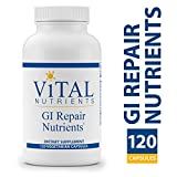 Vital Nutrients - GI Repair Nutrients - Supports Health of The Gastrointestinal Lining - 120 Vegetarian Capsules per Bottle